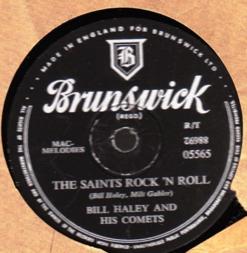 Bill Haley & Comets - The Saints Rock n Roll - Brunswick 05565